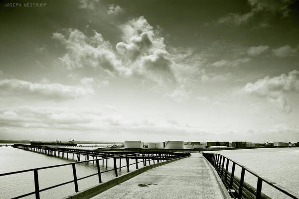 Pier-shaped Poster