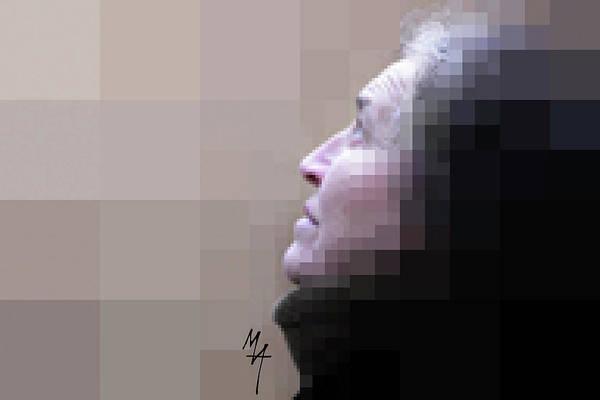 Pixel Portrait Poster