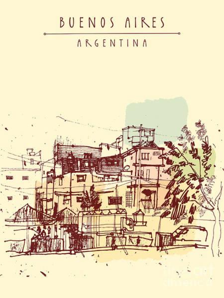 Poor Neghborhood In Buenos Aires Poster