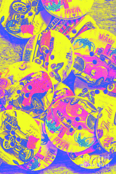 Pop Art Garage  Poster