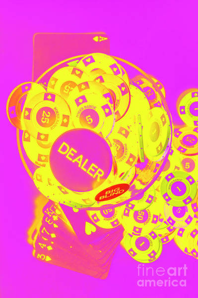 Pop Art Poker Poster