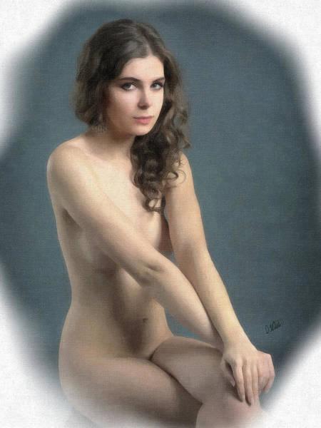 Portrait Of Girl Au Naturel - Dwp2655644 Poster