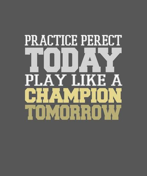 Practice Perfect Poster