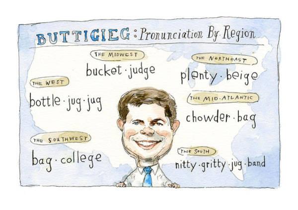Pronunciation By Region Poster
