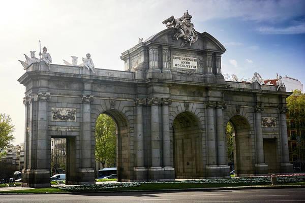 Puerta De Alcala In Madrid, Spain Poster