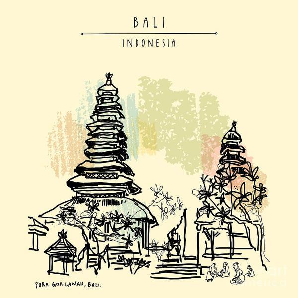 Pura Goa Lawah, An Important Balinese Poster