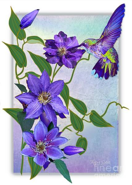 Purple Attraction Poster