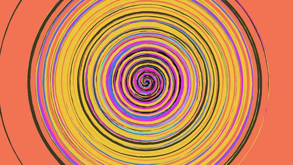 Radical Spiral 19023 Poster