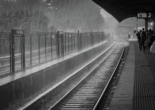 Rainy Days And Metro Poster