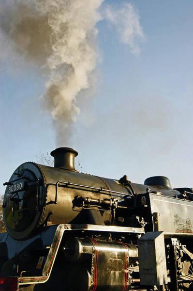 Ramsbottom. East Lancashire Railway. Locomotive 80080. Poster
