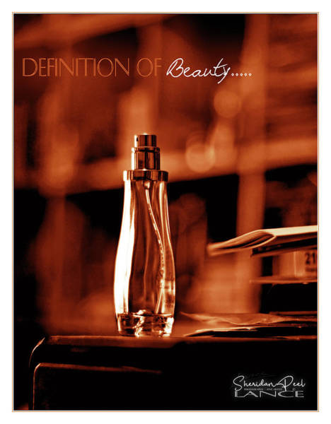Red Definition Of Beauty Poster