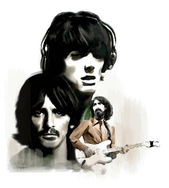 Requiem II George Harrison Poster
