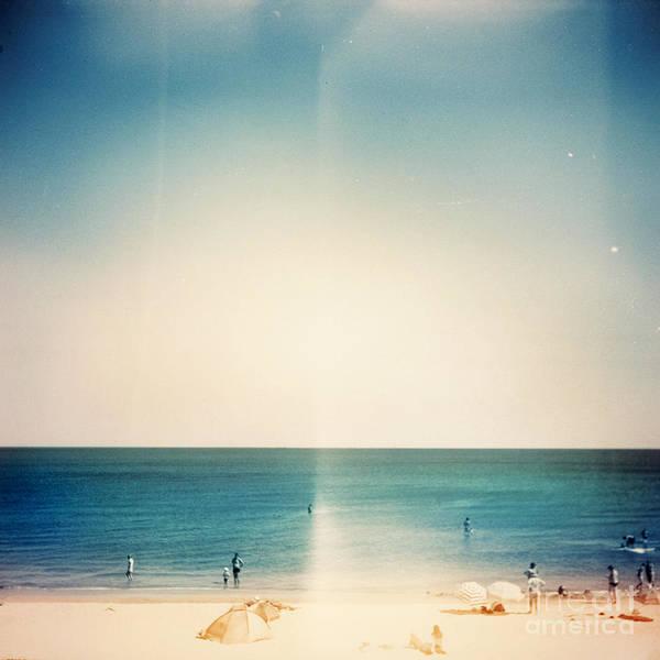 Retro Medium Format Photo. Sunny Day On Poster