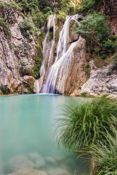 River Neda Waterfalls Poster