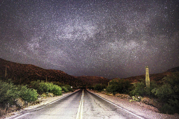 Poster featuring the photograph Road To The Stars by Chance Kafka