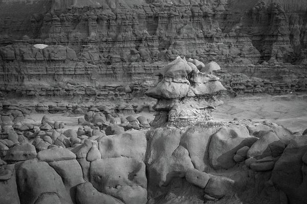Rocky Desert Formation Poster