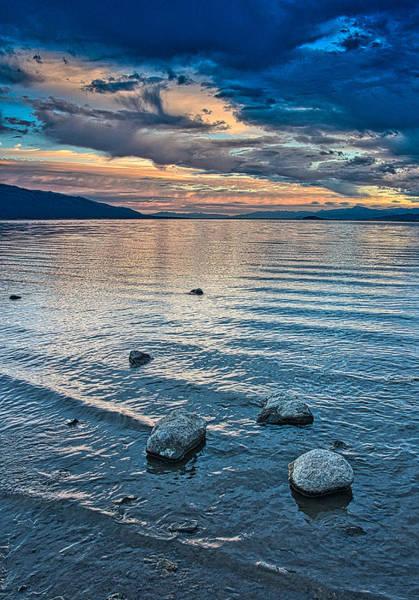 Rocky Lake Vista Poster