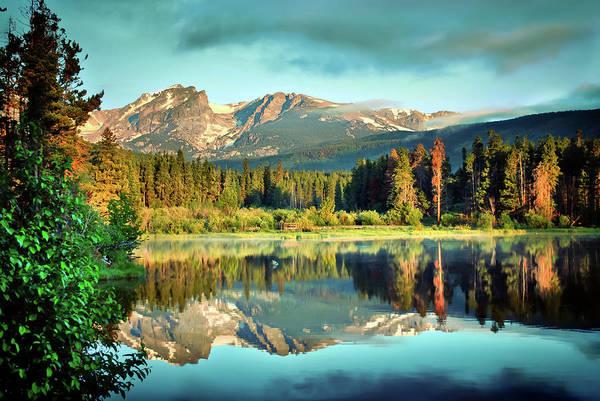 Rocky Mountain Morning - Estes Park Colorado Poster