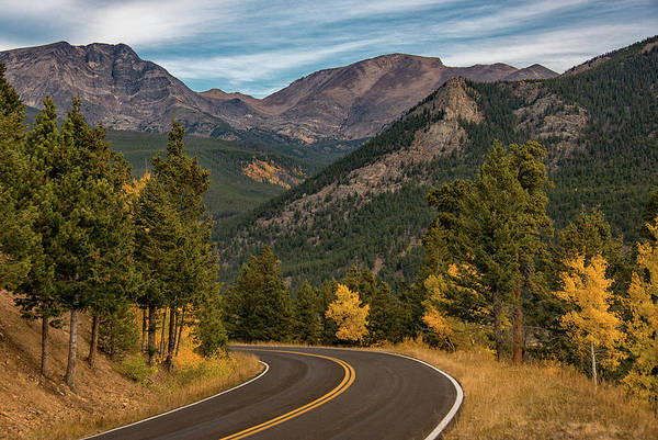Poster featuring the photograph Rocky Mountain Road Trip by Darlene Bushue