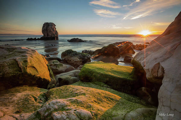 Rocky Pismo Sunset Poster