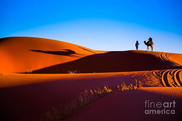 Sahara Desert Sand Poster