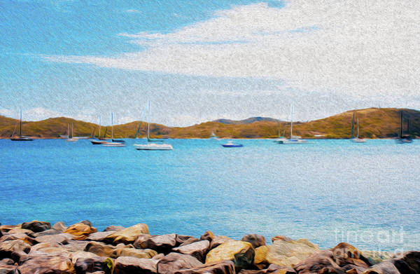 Sailboat Adventure In San Juan Puerto Rico Poster