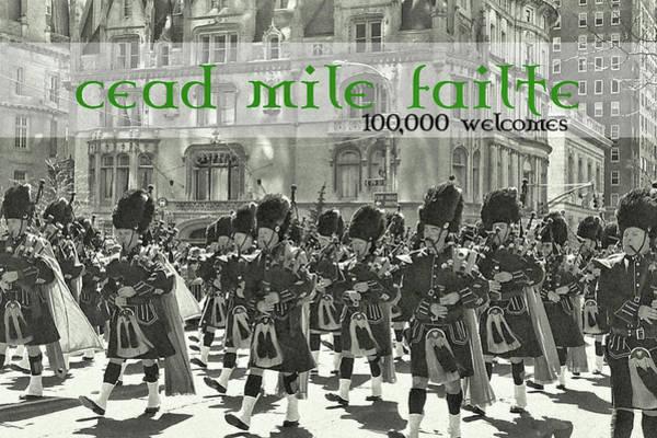 Saint Patricks Day Quote Poster