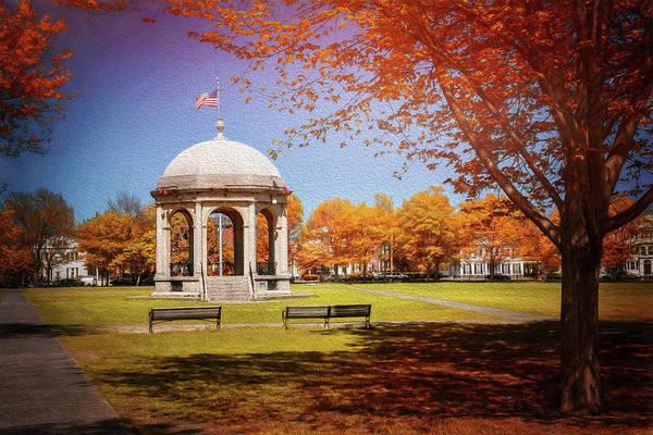 Salem Common Salem Massachusetts Poster