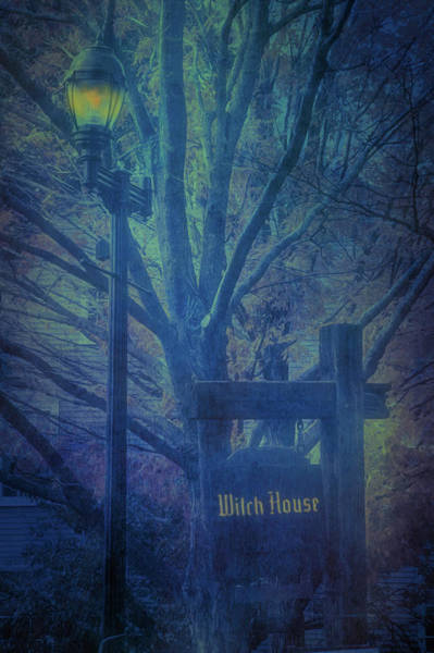Salem Massachusetts  Witch House Poster