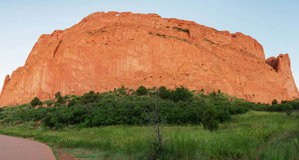 Sandstone Rock Formation Called The Kissing Camels In Colorado Poster
