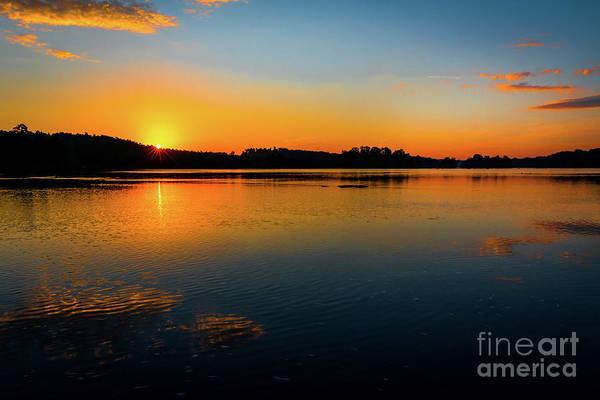 Savannah River Sunrise - Augusta Ga Poster