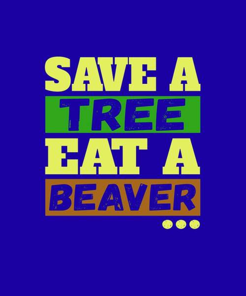 Save A Tree Poster