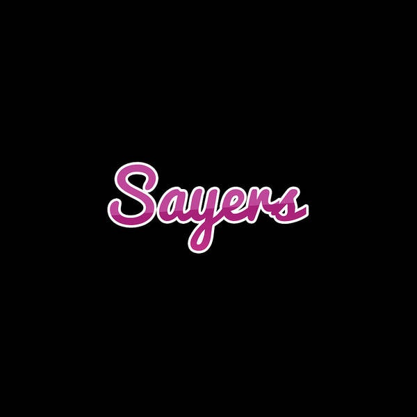 Sayers #sayers Poster