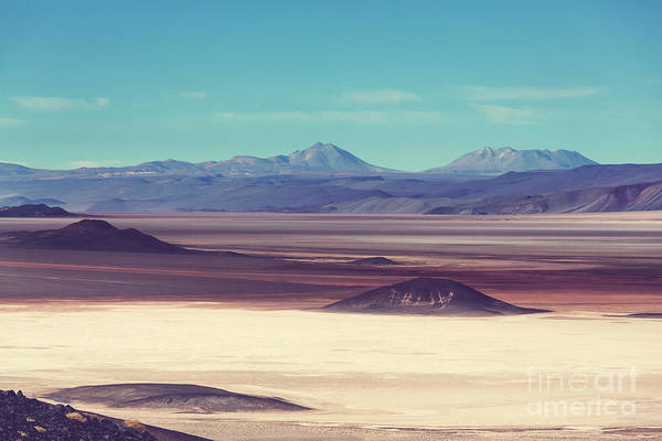 Scenic Landscapes Of Northern Argentina Poster