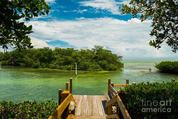 Scenic View Of The Florida Keys With Poster