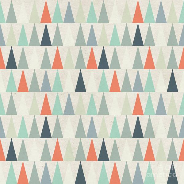 Seamless Geometric Pattern On Paper Poster