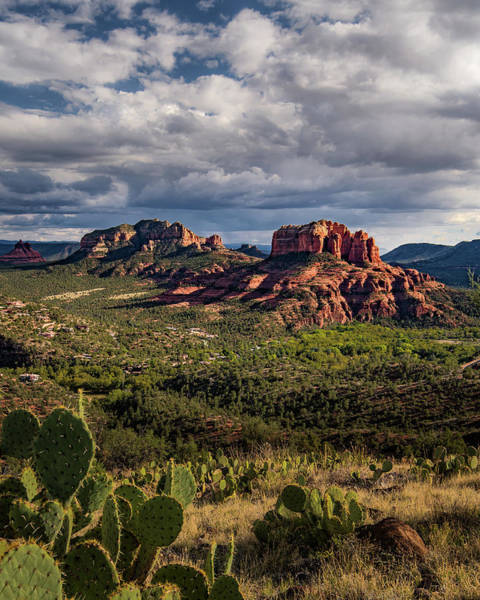 Sedona  - View From The Airport Trail Poster