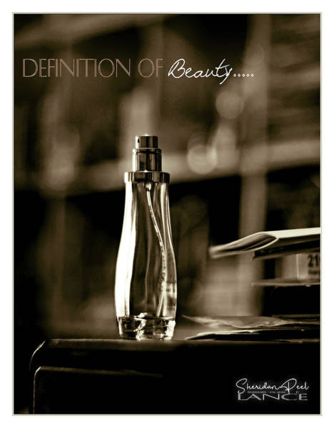 Sepia Definition Of Beauty Poster