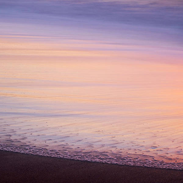 Poster featuring the photograph Silky Sea by Whitney Goodey