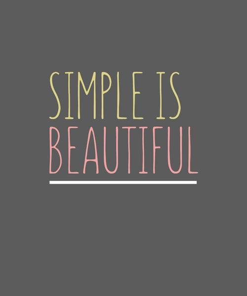 Simply Beautiful Poster