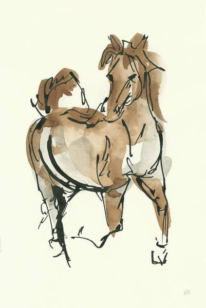 Sketchy Horse V Poster