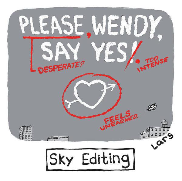Sky Editing Poster