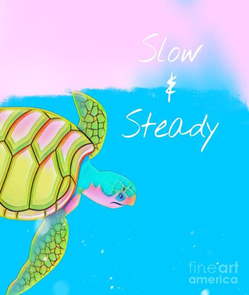 Slow And Steady Poster
