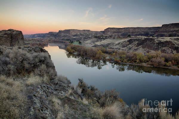 Snake River Dawn Poster