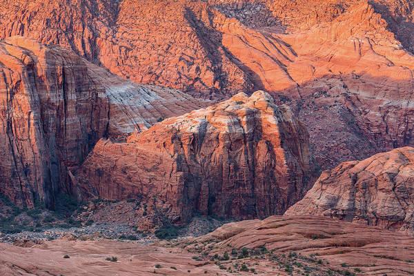 Snow Canyon Red Rock Canyon Walls Poster