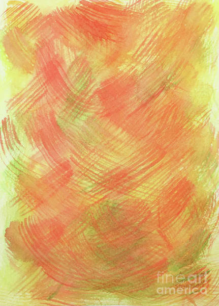 Soft Orange Colors 2 Poster