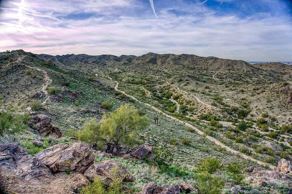 South Mountain Landscape Poster