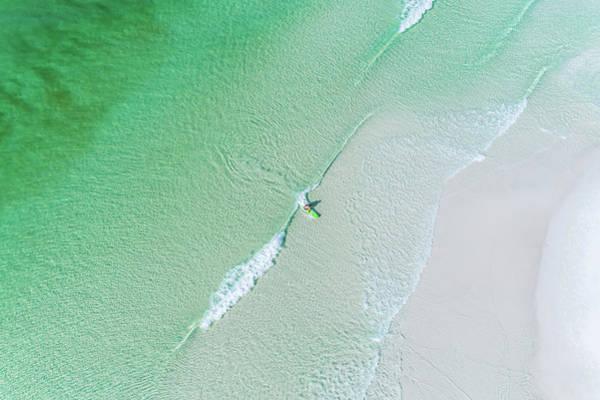 Sowal Surfing Aerial Poster