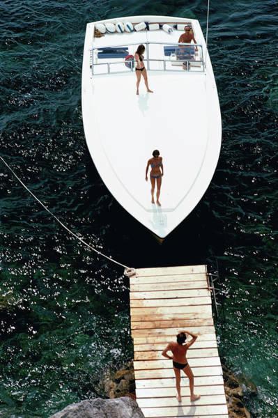 Speedboat Landing Poster