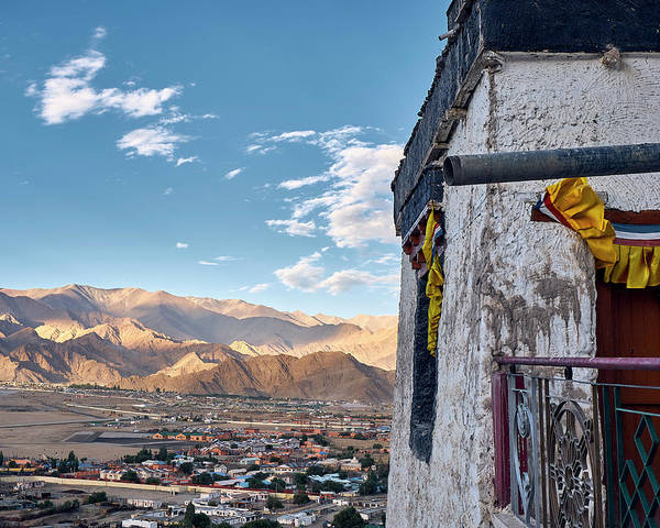 Poster featuring the photograph Spituk Gompa by Whitney Goodey